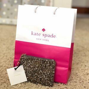 Kate Spade Bitsy Glitter Wallet